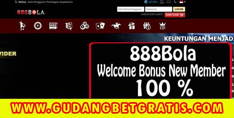 888bola,888bola login,daftar 888bola,welcome bonus,bonus deposit,bonus new member
