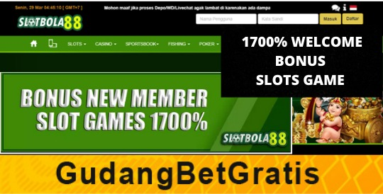 SLOTBOLA88- 1700% WELCOME BONUS SLOTS GAME