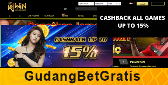 K9WIN- CASHBACK ALL GAMES UP TO 15%